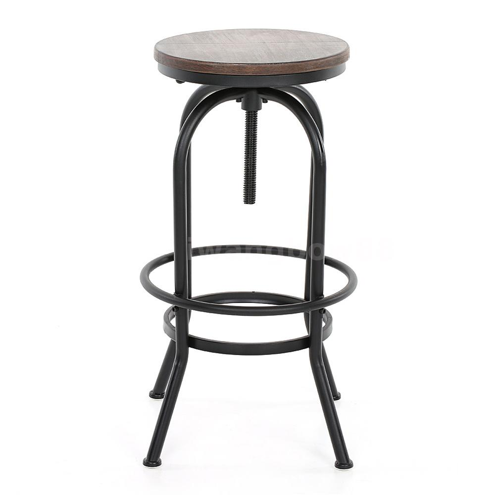... bar Industriale stile altezza regolabile Sgabello girevole sedia K6C7